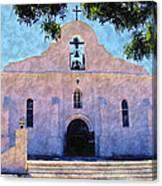 Presido Chapel San Elizario Texas Canvas Print