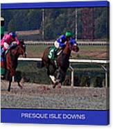 Presque Isle Downs Canvas Print
