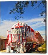 Prettiest Train Ever Canvas Print