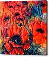 Pretty Poppies Canvas Print