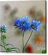 Pretty Weeds Canvas Print