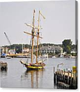 Pride Of Baltimore II Pb2p Canvas Print