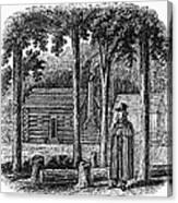 Prince Demetrius Augustine Gallitzin (1770-1840) Canvas Print