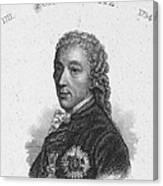 Prince Of Kaunitz-rietberg Canvas Print