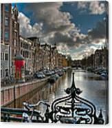 Prinsengracht And Leidsestraat. Amsterdam Canvas Print