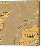 Printed Circuit Canvas Print