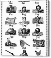 Printers Cuts, 1825 Canvas Print