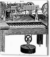 Printing Telegraph, 1873 Canvas Print