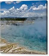 Prismatic Spring Yellowstone Canvas Print