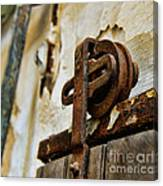 Prison Door Canvas Print