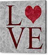 Pristine Love Canvas Print