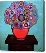 Pristine Memories V Canvas Print