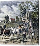 Pro-union South, 1862 Canvas Print