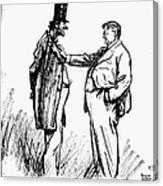 Prohibition Cartoon, 1928 Canvas Print