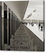 Promenade Des Planches Canvas Print