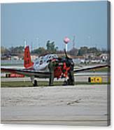 Propeller Plane Chicago Airplanes 09 Canvas Print