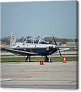 Propeller Plane Chicago Airplanes 10 Canvas Print