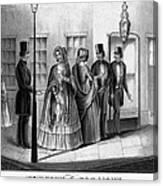 Prostitution, 1850 Canvas Print