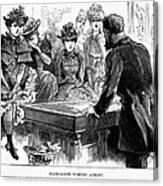 Prostitution, 1892 Canvas Print