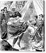 Prostitution, 1895 Canvas Print