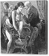 Prostitution, C1880 Canvas Print
