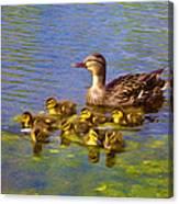 Proud Mother Canvas Print