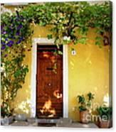 Provence Door Number 1 Canvas Print