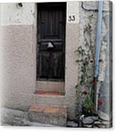 Provence Door Number 33 Canvas Print