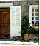 Provence Door Number 4 Canvas Print