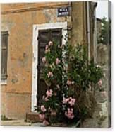 Provence Door Number 9 Canvas Print