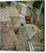 Provence Rooftops Canvas Print