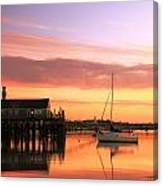 Provincetown Harbor Before Sunrise Canvas Print