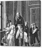 Prussian Royal Family, 1807 Canvas Print