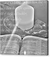 Psalm 35 Canvas Print
