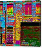 Psychadelic Architecture Canvas Print