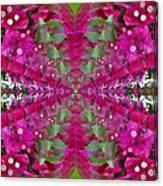 Psychadelic Flower Canvas Print
