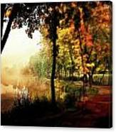 Psychedelic Autumn Canvas Print