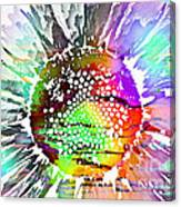 Psychedelic Daisy 2 Canvas Print