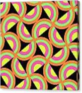 Psychedelic Squares Canvas Print
