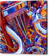 Psychodelic Chopper-1 Canvas Print