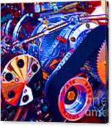 Psychodelic Supercharger-1 Canvas Print