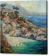 Pt Lobos View Canvas Print