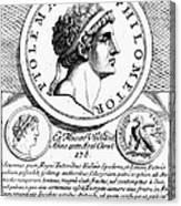 Ptolemy Vi (d. 145 B.c.) Canvas Print