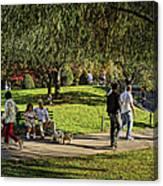 Public Garden 11 Canvas Print