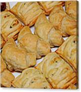 Puff Pastry Party Tray Canvas Print