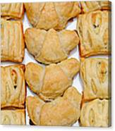 Puff Pastry Party Tray Pano Canvas Print