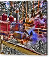 Puffing Billy Canvas Print