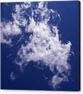 Pulled Cotton Clouds Canvas Print