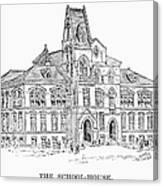 Pullman: Schoolhouse Canvas Print