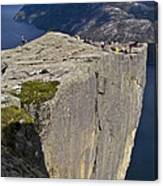 Pulpit Rock Canvas Print